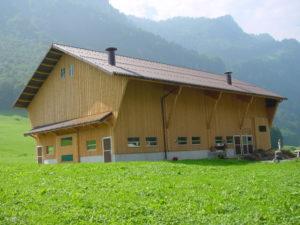 Holzbau Stall