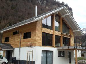 Einfamilienhaus Holzfassade