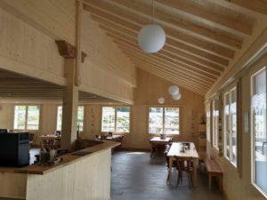 Innenausbau Restaurant Pragelpass
