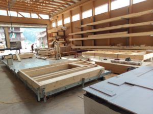 Holzbau Elemente anfertigen