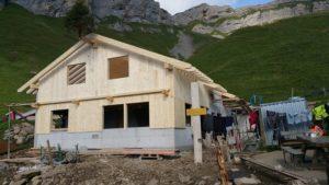 Neubau Alphütte