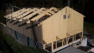 Holzkonstruktion Landwirtschaft