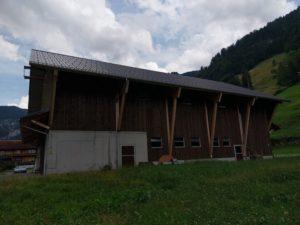 Stall-Neubau
