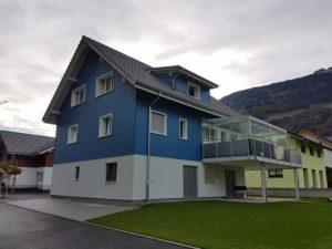 Einfamilienhaus Neubau mit Balkon