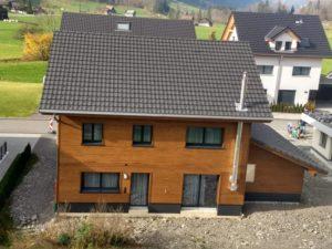 Einfamilienhaus mit Ziegeldach