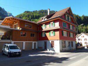 Anbau an bestehendem Haus