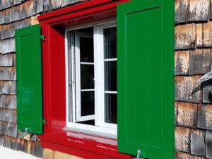 Fenster und Zargen