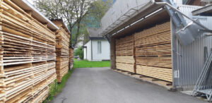 Holztrocknungsanlage