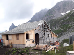 Umbau Alphütte Brunalpeli