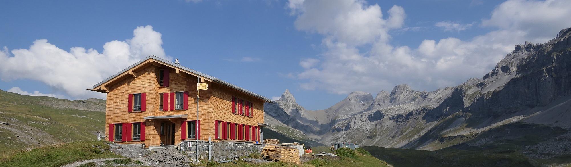 SAC-Hütte Glattalp
